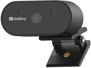 Sandberg Wide Angle Webkamera Černá Black