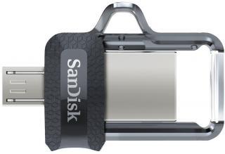 SanDisk Ultra Dual Drive M3.0 128 GB Black