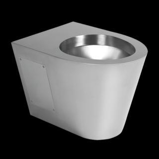 Sanela nerez závěsné WC bez sedátka SLWN 19