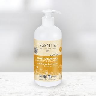 Sante family posilující šampon bio pomeranč a kokos 500 ml