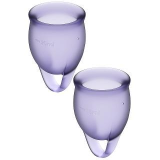 Satisfyer Feel Confident Menstrual Cup menstruační kalíšek pro ženy Purple 20 ml 20 ml
