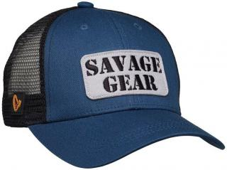 Savage Gear Čepice Logo Badge Cap Blue One Size