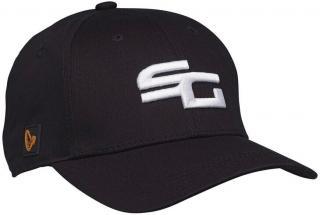 Savage Gear Čepice SG Baseball Cap Black One Size