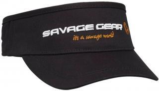 Savage Gear Čepice Sun Visor Black One Size