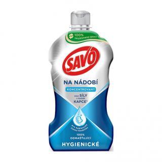 SAVO Hygienický přípravek na nádobí 450 ml mix barev
