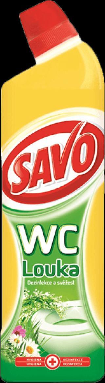 SAVO WC čistič Vůně louky 750 ml