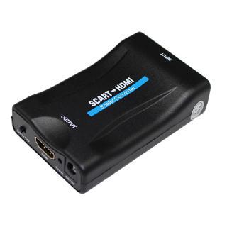 Scart konvertor adaptér k HDMI pro audio a video
