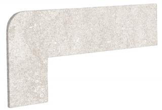 Schodnicový Sokl Levý Exagres Opera ivory 42,3X17,5 cm mat OPERAZRIIV béžová ivory