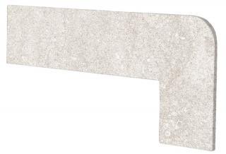 Schodnicový Sokl Pravý Exagres Opera ivory 42,3X17,5 cm mat OPERAZRDIV béžová ivory