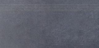 Schodovka Rako Sandstone plus černá 30x60 cm mat DCPSE273.1 černá černá
