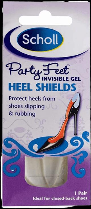 SCHOLL Party Feet Gelová ochrana paty 1 pár fialová