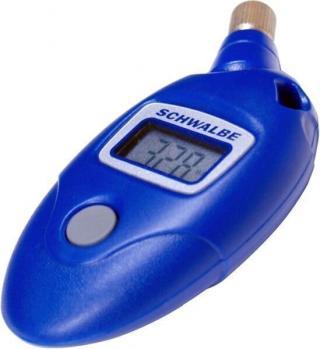 Schwalbe Airmax Pro Digital Pressure Gauge Blue