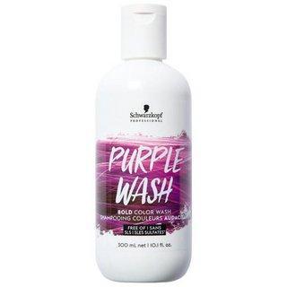 Schwarzkopf Professional Bold Color Wash Purple barevný šampon pro všechny typy vlasů 300 ml