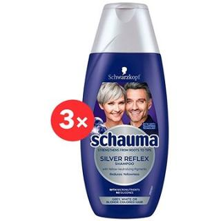 SCHWARZKOPF SCHAUMA Silver Reflex 3 × 250 ml