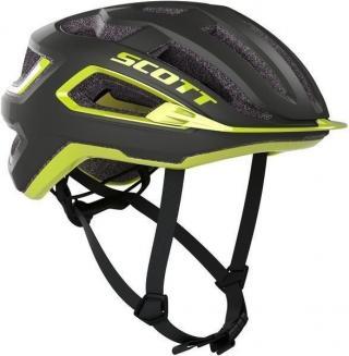 Scott Arx Plus (CE) Helmet Dark Grey/Radium Yellow L L