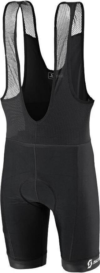 Scott Mens Bibshorts Trail Underwear Black S pánské S