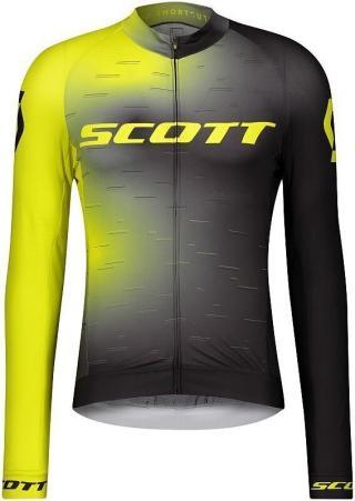 Scott Mens RC Pro L/SL Sulphur Yellow/Black XXL pánské 2XL