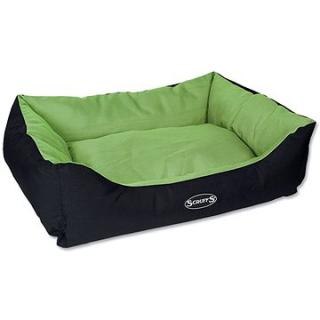 SCRUFFS expedition box bed L 75 × 60 cm limetkový