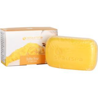 Sea of Spa Essential Dead Sea Treatment tuhé mýdlo se sírou 125 g dámské 125 g