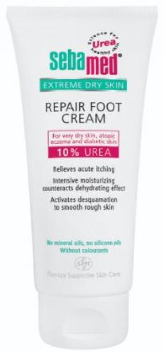 SEBAMED Urea 10% Zklidňující krém na nohy  bílá