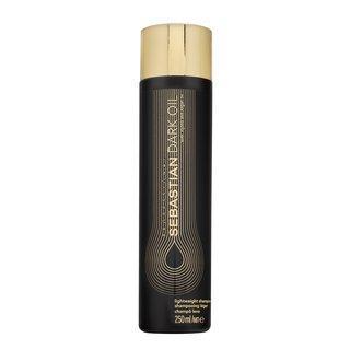 Sebastian Professional Dark Oil Lightweight Shampoo vyživující šampon pro uhlazení a lesk vlasů 250 ml