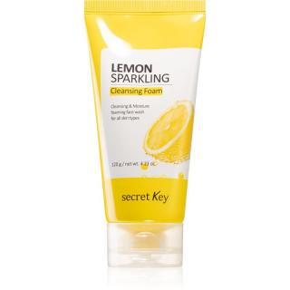 Secret Key Lemon Sparkling osvěžující čisticí pěna 120 ml dámské 120 ml