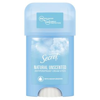 Secret Tuhý krémový antiperspirant Natural Unscented 40 ml