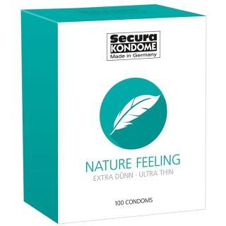 Secura KONDOME Nature Feeling kondom pro muže 100 ks pánské 100 ks