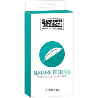 Secura KONDOME Nature Feeling kondomy pro muže 12 ks pánské 12 ks