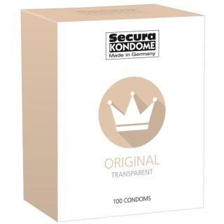 Secura KONDOME Original kondomy pro muže 100 ks dámské 100 ks