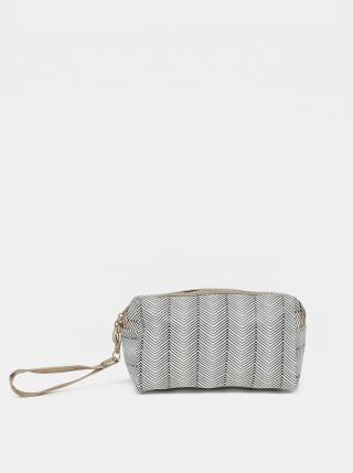 Šedá dámská vzorovaná kosmetická taška Clayre & Eef dámské