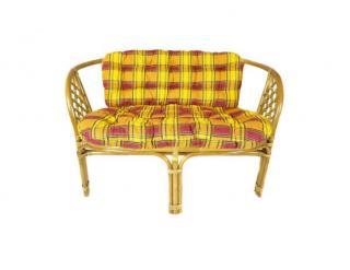Sedák na pohovku BAHAMA, dvoudílný L15 žlutá