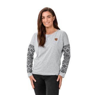 Šedé dámské tričko SAM 73 dámské šedá L
