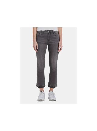 Šedé dámské zkrácené bootcut džíny Tom Tailor Kate dámské šedá M