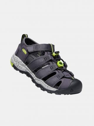 Šedé dětské sandály Keen šedá 24