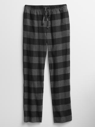 Šedé pánské pyžamové kalhoty GAP pánské šedá M
