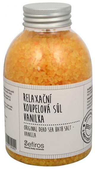 Sefiros Relaxační koupelová sůl Vanilka  500 g