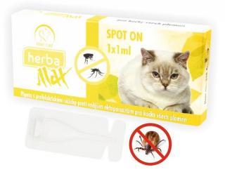 Selecta Herba Line Spot-on antiparazitní citrus kočka 1x1ml