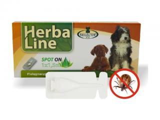 Selecta Herba Line Spot-on antiparazitní citrus pes velký 1x1,5ml