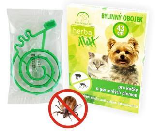 Selecta Herba Max antiparazitní obojek citrus kočka 43cm
