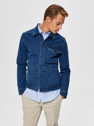 Selected Homme modrá džínová pánská bunda Harry - L pánské L