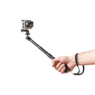Selfie tyč PRO 52 cm černá