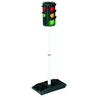 Semafor s automatickým přepínáním světel
