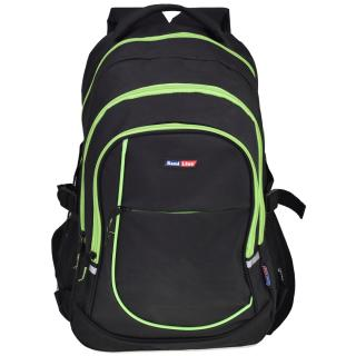 Semiline Unisexs Backpack 4668-6 Green 46 cm x 30 cm x 24 cm