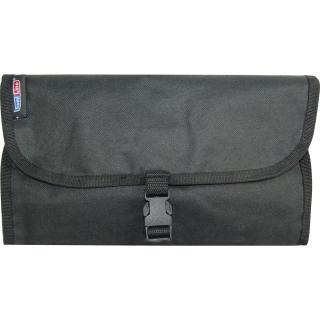 Semiline Unisexs Cosmetic Bag 5413-8 Black 46 cm x 30 cm