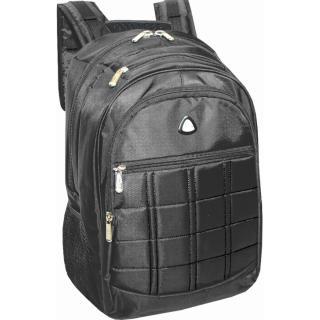 Semiline Unisexs Laptop Backpack 8378 Black 46 cm x 34 cm x 24 cm