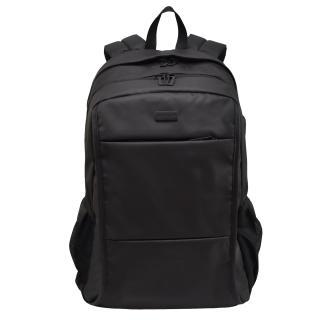 Semiline Unisexs Laptop Backpack with USB port P8006 Black 46 cm x 31 cm x 20 cm