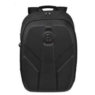 Semiline Unisexs Laptop Backpack with USB port P8012 Black 46 cm x 31 cm x 13 cm