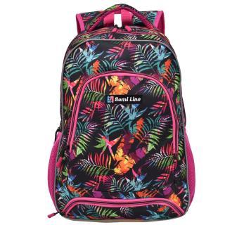 Semiline Womans Backpack J4674-3 Multicolour wzorzysty 46 cm x 30 cm x 14 cm