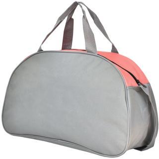 Semiline Womans Fitness Bag 3512-15 Grey 27 cm x 46 cm x 19 cm